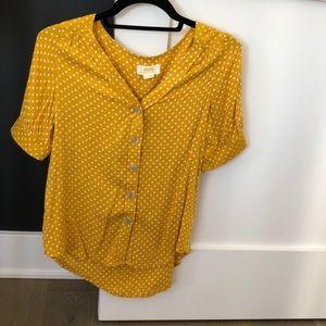 Anthropology Maeve blouse